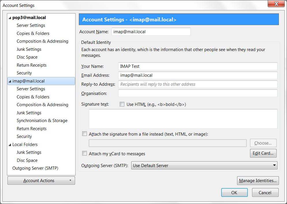 Email (POP3/IMAP/SMTP)   Interlok Documentation