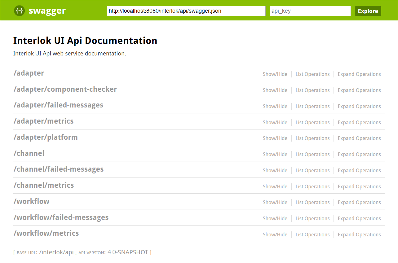 Interlok UI API | Interlok Documentation