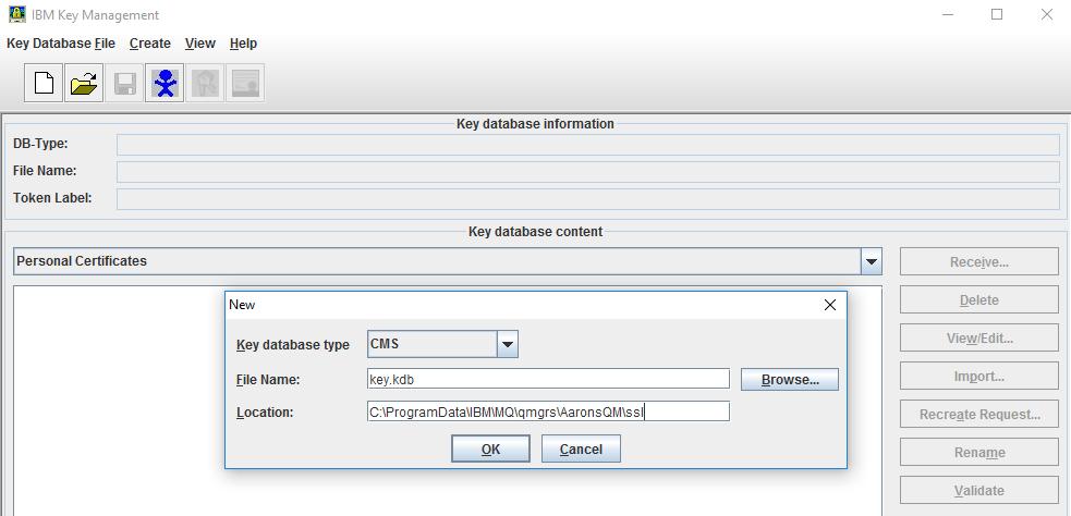 Interlok SSL with WebsphereMQ | Interlok Documentation